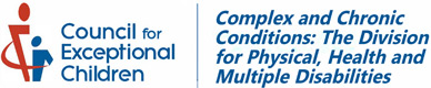 Complex and Chronic Conditions: The Division for Physical, Health and Multiple Disabilities logo